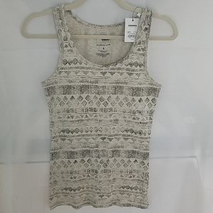 NWT Sonoma Everyday Tank Grey/Black Sz Sm
